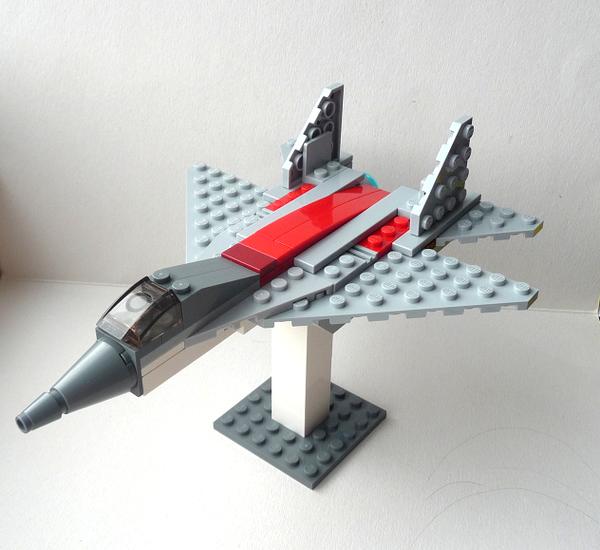 Инструкция Как Сделать Из Лего Самолёт