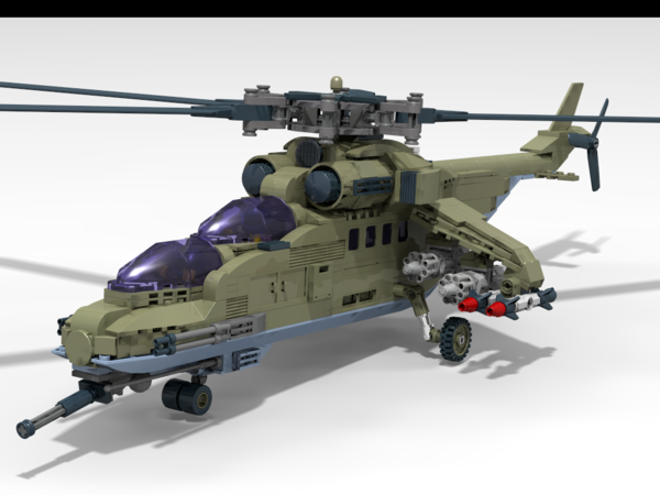 Фото военный вертолет