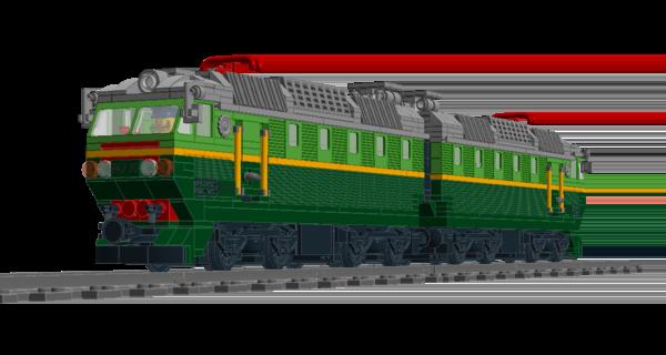 Электровоз ЧС7 состоит из двух